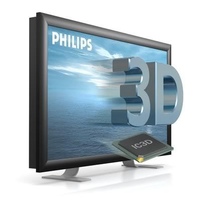 Phillips televizor sa 3D slikom