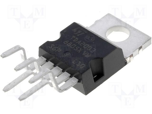 TDA 2003 - 10W pojačalo - chip
